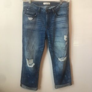 Banana Republic Distressed Boyfriend Jeans